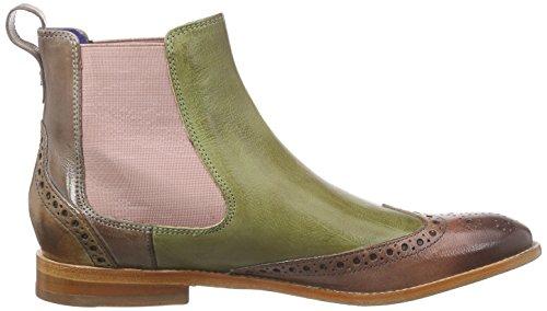 Elastic Classic Chelsea Lila Lined Melvin Cold 5 amp; Cappu Boots Mint Ls Rose Green Half Mehrfarbig Amelie Hamilton Rose Length Women's FF7qUw