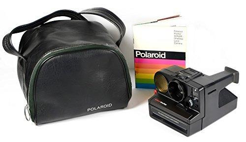 Polaroid Pronto Sonar OneStep Instant Film Land Camera in Bag and Manual - Polaroid Land Camera Pronto Film