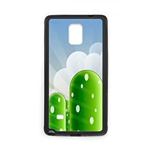 Mario Mountains Game Samsung Galaxy Note 4 Cell Phone Case Black persent xxy002_6032148