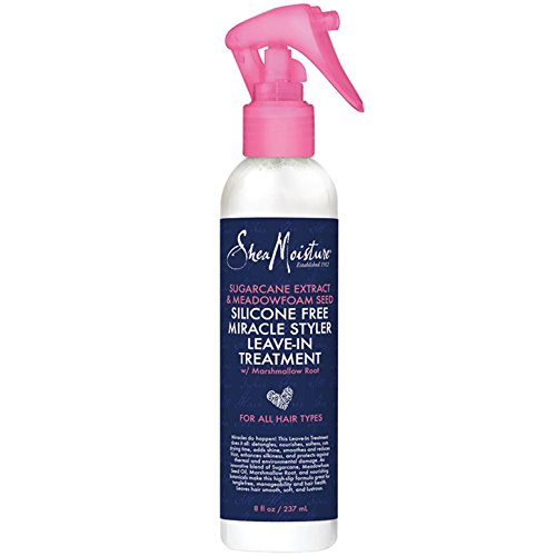 - Shea Moisture Silicone Free Miracle Styler Leave-In Treatment - 8 fl oz