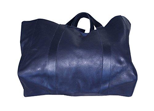 donne blu borsa a mano in pelle borsetta a spalla Borsa