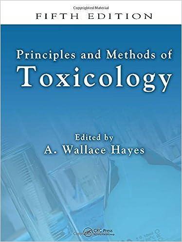 Meilleur téléchargement de livres gratuits Principles and Methods of Toxicology, Fifth Edition (2007-09-25) PDF B01FIZ8OVS