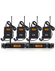 IEM1200 Sistema de monitor inalámbrico en oído, monitoreo de bodypack 2/4 de 2 canales, con audífono, tipo inalámbrico, utilizado en escenario o estudio
