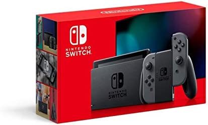 Nintendo Consola Switch Gris 32GB Version 1.1 - Standard Edition 3