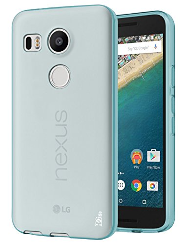 Nexus 5X Case, DGtle Anti-Scratches TPU Gel Premium Slim Flexible Soft Bumper Rubber Protective Case Cover for LG Google Nexus 5X (Mint)