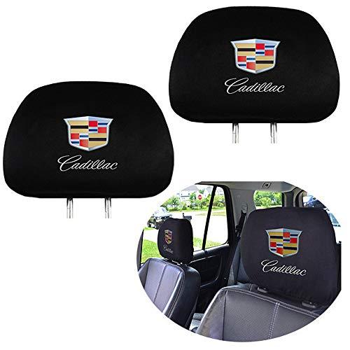 - 99 Carpro Cadillac Headrest Covers, Car Truck SUV Van Headrest Covers for Cadillac Vehicles - Set of 2
