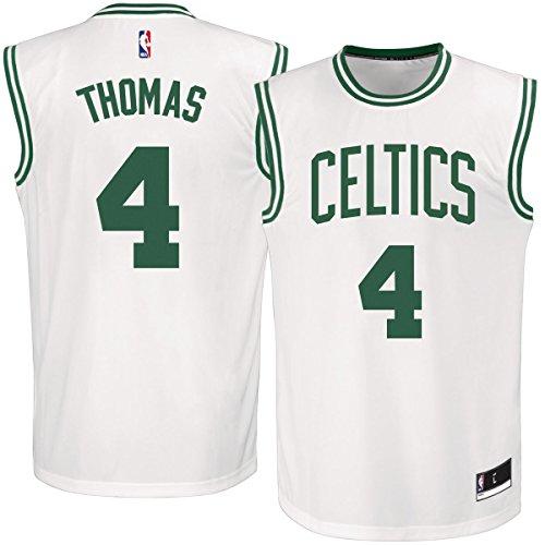 Isaiah Thomas Boston Celtics #4 White Youth Replica Jersey (Small 8)