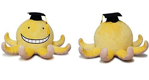 [Shalleen Cos Assassination Classroom Korosensei Soft Plush Toy Stuffed Mini Doll Xma Gift] (Night Fury Costume For Cat)