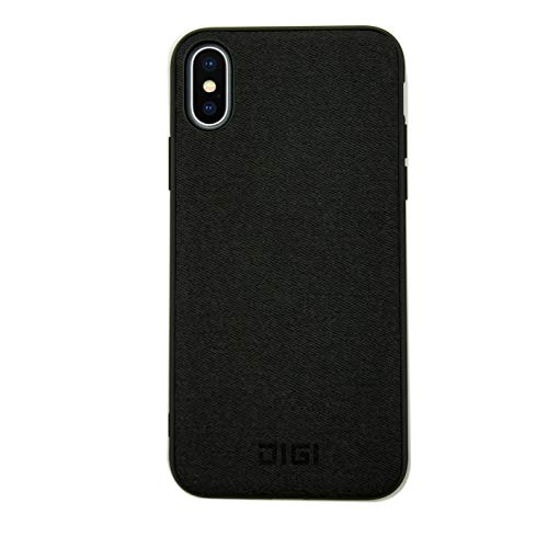 Magnetic Case, Digi Shock Absorption Hybrid Designed Cover with Built-in Invisible Metal Rings Compatible with Magnetic QI Wireless Car Charger Magnetic Phone Case for iPhone (iPhone - Covers Phone Wireless