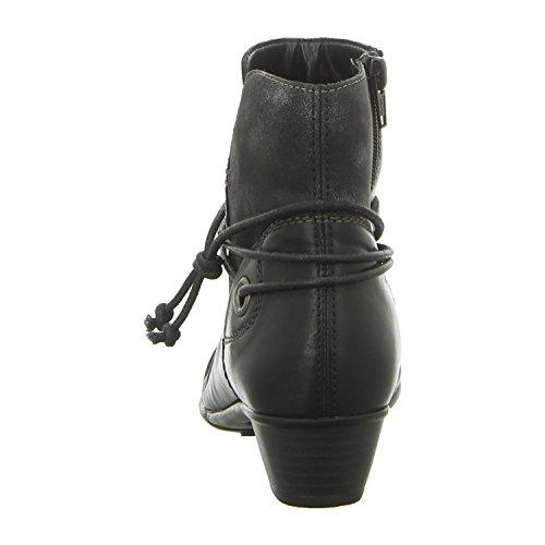 D7368 Remonte Black Black Women's Black 01 Boots ggnw5AOqx1