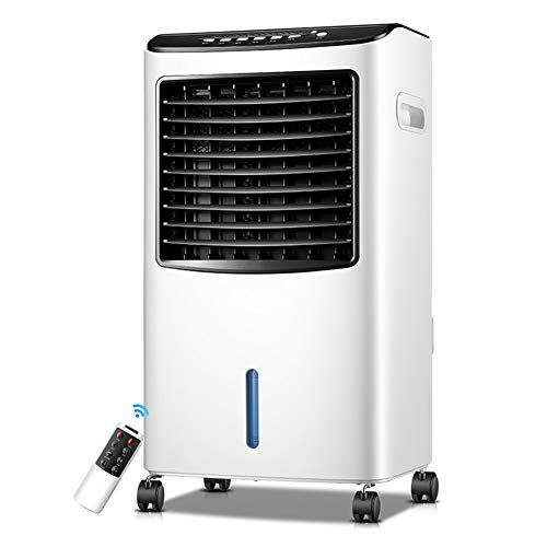 - HAIPENG Air Cooler Fan Cooling Heating Dual-use Refrigerator Purification Humidification Portable Mute Timers, 380m³/h, 65W (Color : White, Size : 380x280x720mm)