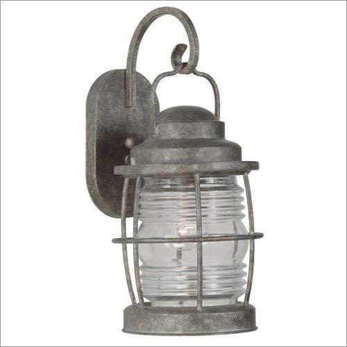 Outdoor Lantern Beacon Large Wall (Kenroy Home 90953FL Beacon Outdoor Lantern Large Wall, Flint)