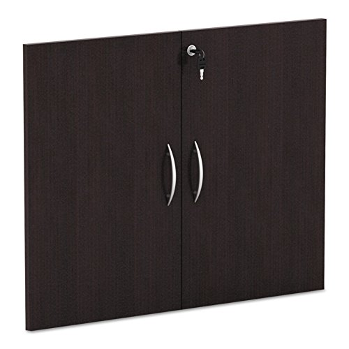 Alera ALEVA632832ES Valencia Series Cabinet Door Kit For All Bookcases, 31 1/4'' Wide, Espresso by Alera