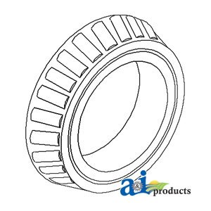 Bearing Pilot Pinion - A&I Products Pilot BEARING , Differential Pinion (1939-1952) Replacement fo...