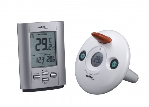 WS 9005 FUNK-POOL-THERMOMETER Poolsensor - Set digital