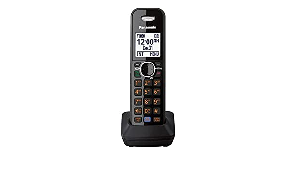 Teléfono Fijo, Negro Panasonic Auricular inalámbrico casa teléfono Fijo: Amazon.es: Electrónica
