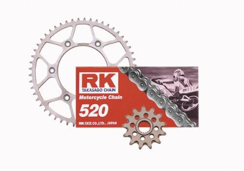 Outlaw Racing RK Chain & Lightweight Steel Sprocket Kit CRF 450 R X 02-12 13/51
