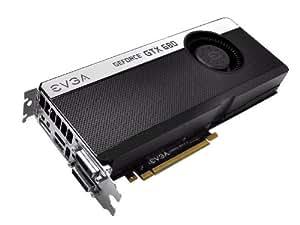 EVGA GeForce GTX 680 4096 MB GDDR5 Dual Dual-Link DVI/mHDMI/DP/SLI Graphics Card (04G-P4-2686-KR)