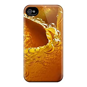 New Style CarlHarris Hard Cases Covers For Iphone 6- Frosted Yellow Rose
