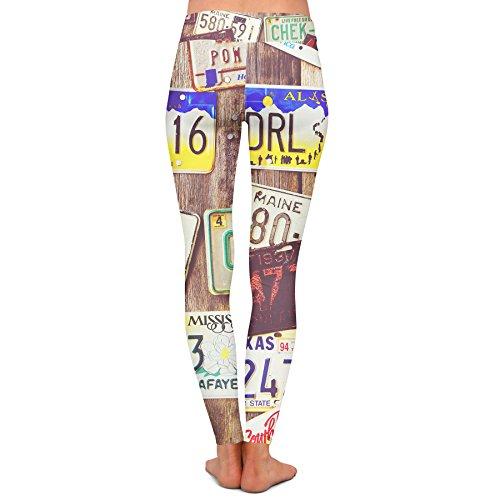 Queen of Cases - Legging de sport - Femme marron marron M