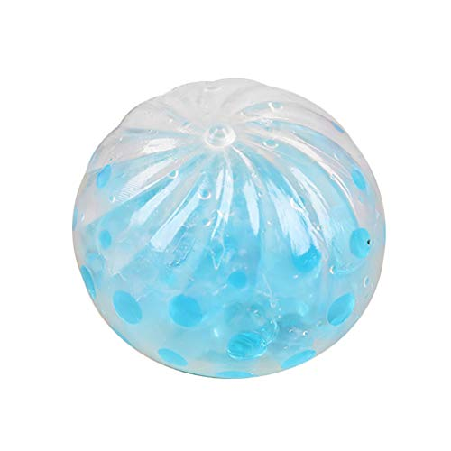 OrchidAmor New Spongy Bead Water Ball Decompression Bun Toys Splat Ball Anti Stress Vent Toy ()