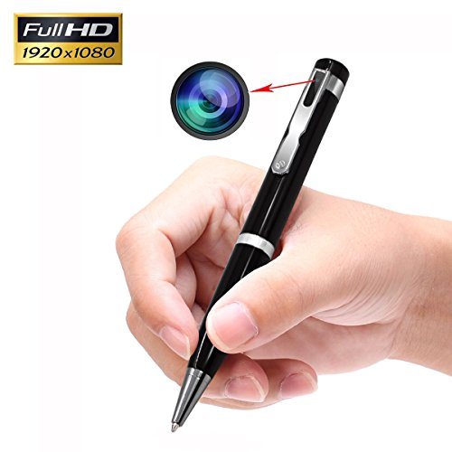 KAMRE Full HD 1080p Mini Spy Hidden Camera Pen Video & Photo Recorder with Extra 2 Pen Refills, A Perfect Spy Gadget