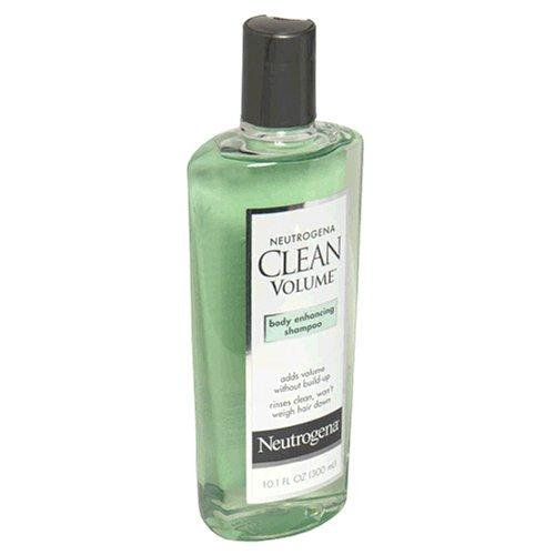 Neutrogena Clean Volume Body Enhancing Shampoo, 10.1 Ounce (Pack of 4) by Neutrogena