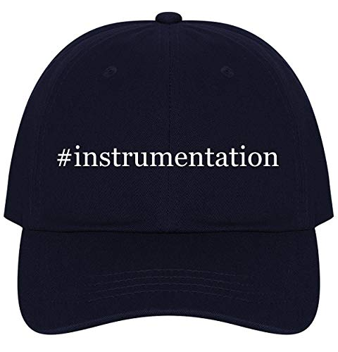 The Town Butler #Instrumentation - A Nice Comfortable Adjustable Hashtag Dad Hat Cap, Navy