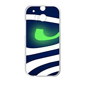 Seattle Seahawks Logo Fashion Comstom Plastic case cover For HTC One M8