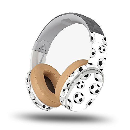 Skin for Skullcandy Crusher Wireless Headphones - Soccer Ball| MightySkins Protective, Durable, and Unique Vinyl Decal wrap cover | Easy To Apply, Remove, and Change Styles | Made in the USA Soccer Crusher