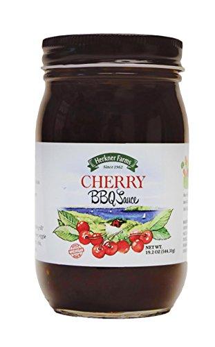 Herkner Farms Cherry BBQ Sauce (Black Cherry BBQ, Jar)