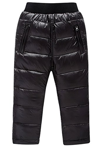 Casual Light Cherry (Happy Cherry Boys Full Length Pants Ankle Length Lightweight Soft Down Pants Casual Trousers Black 2-3Years)