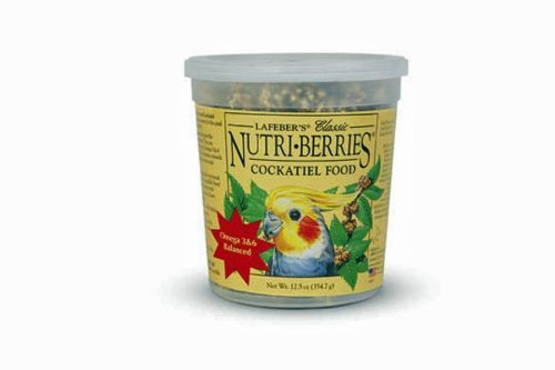 Cockatiel Berry - Lafeber Cockatiel Nutri-Berries Original Complete Diet (354g)