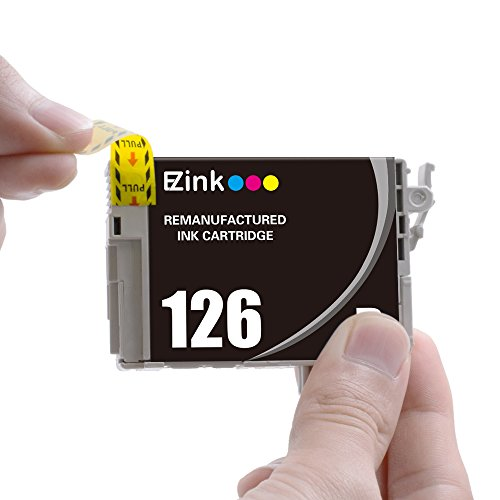 E-Z Ink (TM) Remanufactured Ink Cartridge Replacement For Epson 126 (3 Black, 1 Cyan, 1 Magenta, 1 Yellow) 6 Pack Photo #3