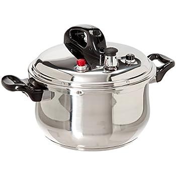 Amazon.com: Bene Casa Pressure Cooker 7.4 QT: Pressure Cookers ...