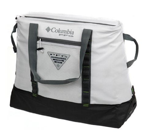 Columbia PFG 65 Can Perfect Cast Ultimate Thermal Tote, 45 L. Capacity, White