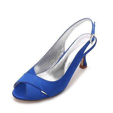US6 Shoes Wedding UK4 Ruby amp;Amp; Wedding Comfort Champagne Dress Satin CN36 Women'S Spring Heelivory RTRY Bowknot Blue Evening Flat EU36 Summer Party Rhinestone wxHU5qE