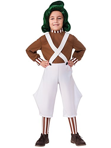 Rubie's Costume Kids Willy Wonka & The Chocolate Factory Oompa Loompa Value Costume, Medium
