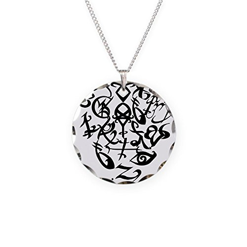 CafePress - A Shadowhunter(S) Heart - - Charm Necklace with Round Pendant