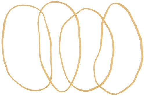 Alliance Pale Crepe Gold Size #18 (3 x 1/16 Inches) Premium Rubber Band - 1 Pound Box (Approximately 2205 Bands per Pound) (20185)