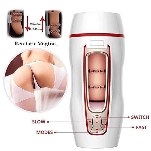 f59a89bd65622 Male Masturbator Cup, Powerful Thrusting Automatic Male Masturbation ...