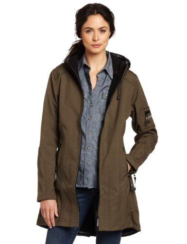 Vert 41 Femme Rain07 Manches Ilse Longues impermable Jacobsen Parka Manteau Army vpUq8U6