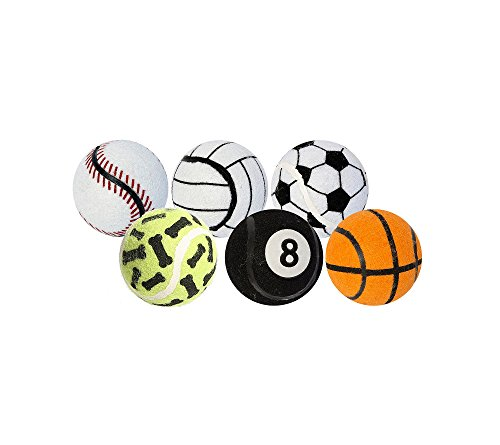 Tennis Balls Pet Toy 6pk