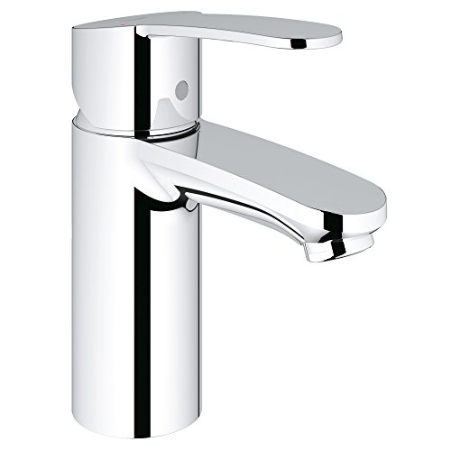 Grohe Single Handle Faucets - Eurostyle Cosmopolitan S-Size Single-Handle Single-Hole Bathroom Faucet Without Pop-Up - 1.2 GPM