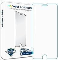 iPhone 7 Plus Glass Screen Protector, Tech Armor Premium Ballistic Glass Apple iPhone 7 Plus (5.5-inch) Screen Protectors [1]