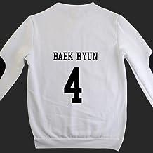 EXO hoodie miracle in December SBS costume with kerchief+glove