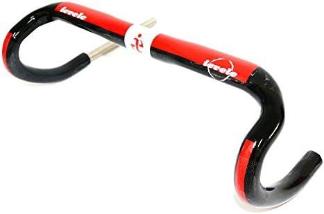 N-27 ievele正規品 自転車ハンドル T700  ドロップハンドル ロードバイク用 ハンドル 軽量