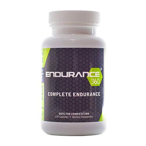Endurance360 Comprehensive Sports Performance for Runners, Cyclists, Triathletes and Ultra Athletes. Designed for Aerobic Energy, Recovery, Boost Vo2 Max, Muscle Cramp with Electrolytes and Aminos