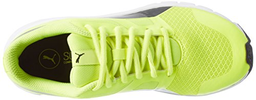 Safety Puma Adulte Flexracer Yellow Mixte 22 Jaune Basses Sneakers Black puma YIYr4wq