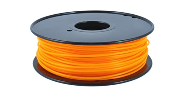 Pla Naranja Fluorescente 3 mm - 1 kg - Pla Naranja Fluorescente ...